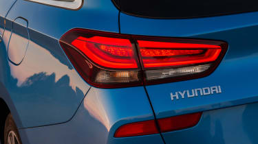 New Hyundai i30 Tourer 2017 - taillight