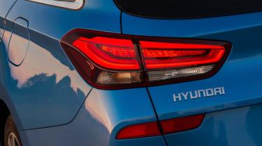 New Hyundai i30 Tourer 2017 - taillight