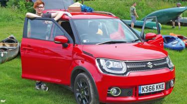 Long-term test - Suzuki Ignis - camp