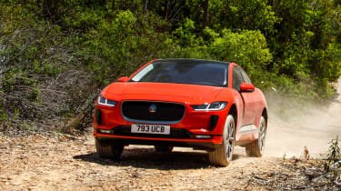 Jaguar I-Pace - front off-road