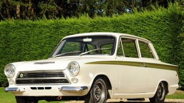 70 Years of British Car Auctions - Lotus Cortina