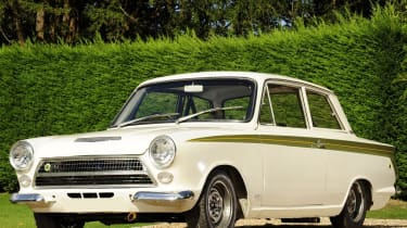 70 Years of British Car Auctions - Lotus Cortina