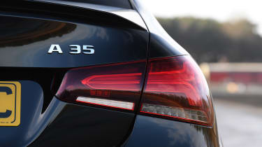 Mercedes-AMG A 35 Saloon - rear badge