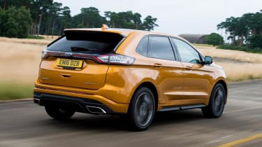 Used Ford Edge - rear tracking
