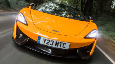 Mclaren 570s review - dead ahead