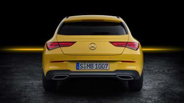 Mercedes CLA Shooting Brake - studio full rear
