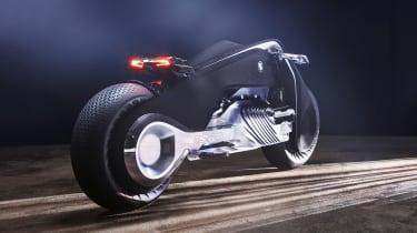 BMW Motorrad Vision Next 100 rear dark