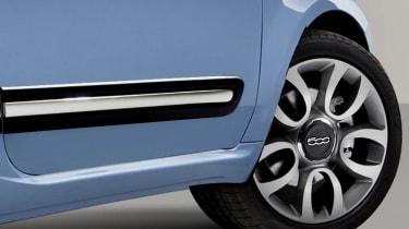 Fiat 500 2016 wheels