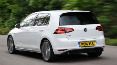 Volkswagen Golf GTI rear action