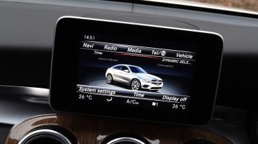 Mercedes GLC Coupe - infotainment screen