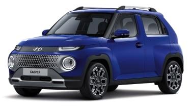 Hyundai Casper - blue