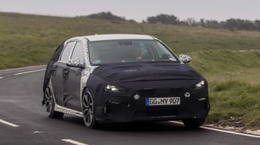 Hyundai i30 N prototype - front cornering
