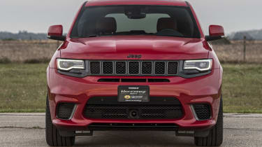 1012bhp Hennessey Jeep Trackhawk head on