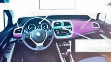 Suzuki S-Cross - dash