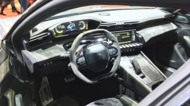 Peugeot 508 Sport Engineered concept cabin