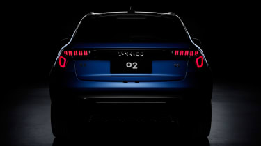 Lynk & Co 02 - rear teaser