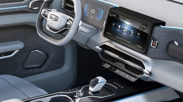 Geely Concept Icon - dash