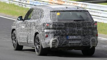 BMW X8 - spyshot 11