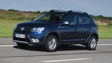 Dacia Sandero Stepway - dynamic front