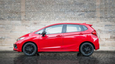 Honda Jazz - side static