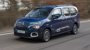 Berlingo front tracking