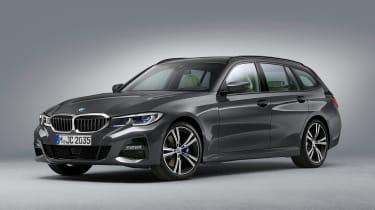 BMW 3 Series Touring - studio front