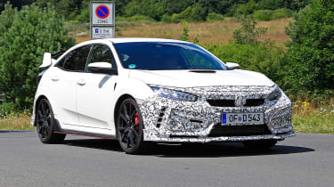 Honda Civic Type R facelift - 3