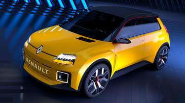 Renault 5 EV concept - front above