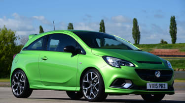 Vauxhall Corsa VXR - front static