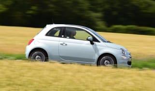 Fiat 500 mild hybrid side view