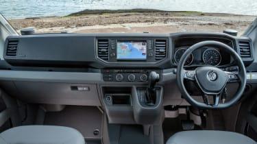 Volkswagen Grand California dash