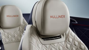 Bentley Continental GT Mulliner Convertible - headrest