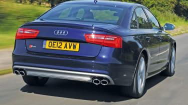 Audi S6 rear