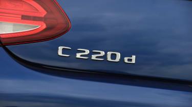 Mercedes C-Class Cabriolet - C 220 d badge