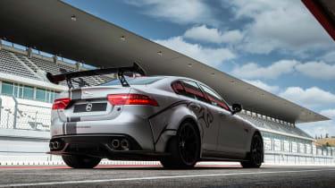 Jaguar XE SV Project 8 - rear static