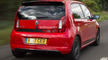 Triple test – Skoda Citigo - rear quarter