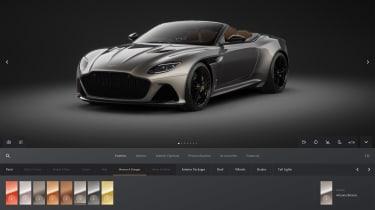Aston Martin online configurator 3