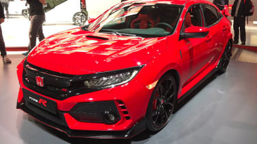 New Honda Civic Type R show - front