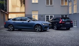 Volvo S90 and V90 R-Design - twin