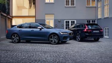 Volvo S90 and V90 R-Design - twin