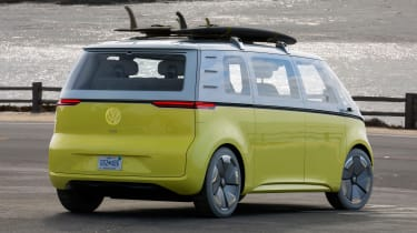Volkswagen I.D. Buzz concept review - rear