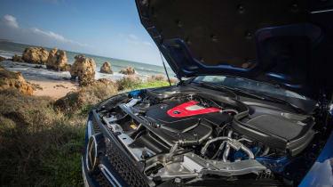 Mercedes-AMG GLC 43 Coupe  engine