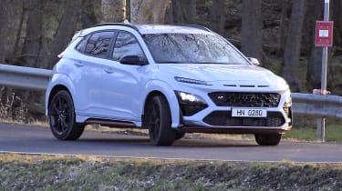 New 2021 Hyundai Kona N spied undisguised