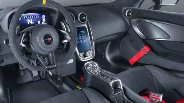McLaren MSO X - interior