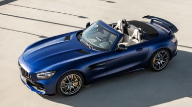 Mercedes-AMG GT R Roadster - above roof down