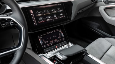 Audi e-tron screen