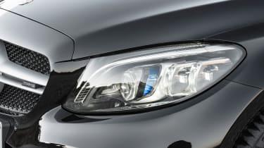 New Mercedes C-Class Coupe - headlight