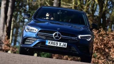 Mercedes-AMG CLA 35 - front cornering