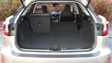 Lexus RX 450h - boot