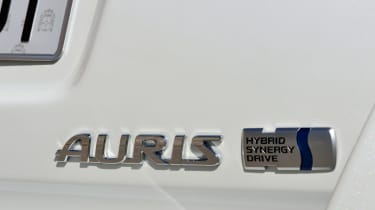 Toyota Auris Touring Sports badge